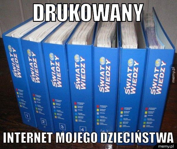 Kiedyś internet wyglądał tak
