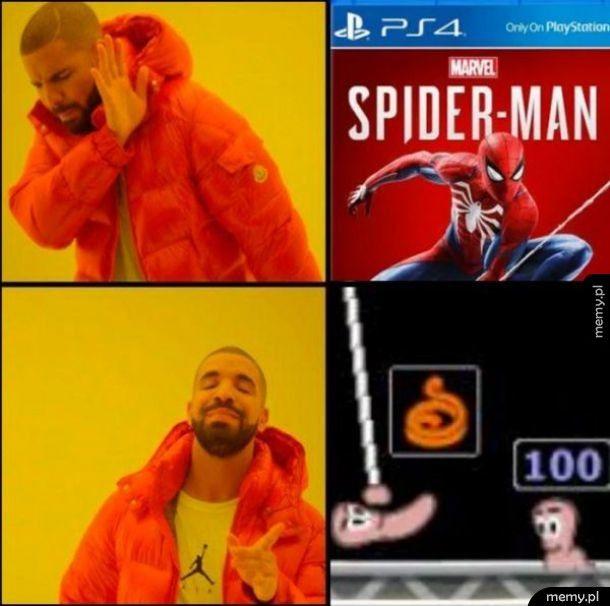 Jedyny Spiderman
