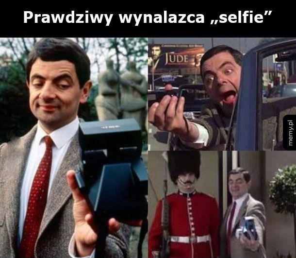 Wynalazca selfie