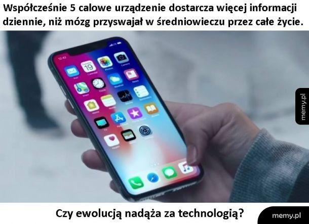 Ewolucja vs technologia