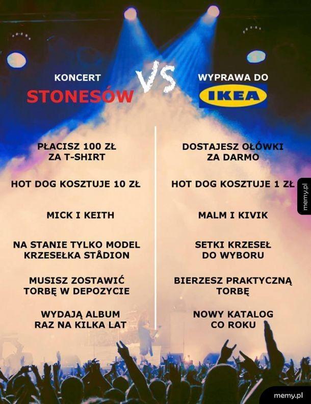 Ikea vs Rolling Stones