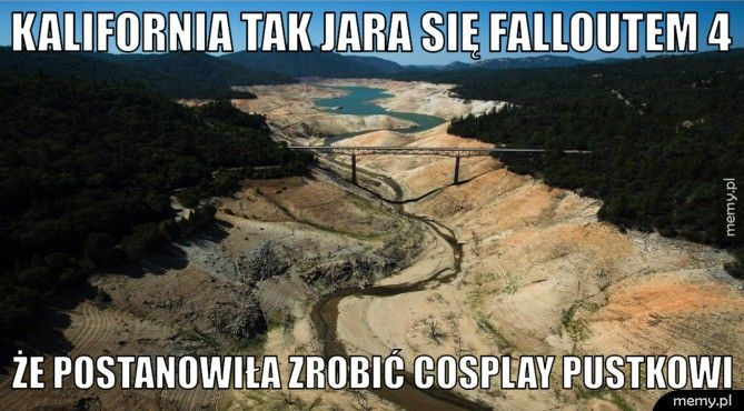 Kalifornia tak jara się Falloutem 4 Że postanowiła zrobić cosplay pustkowi