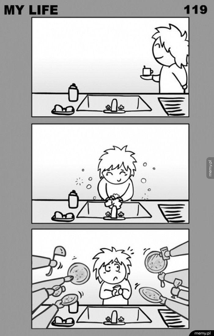 Dlatego boję się zmywać