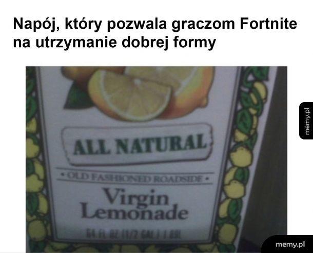Sekretny napój graczy Fortnite