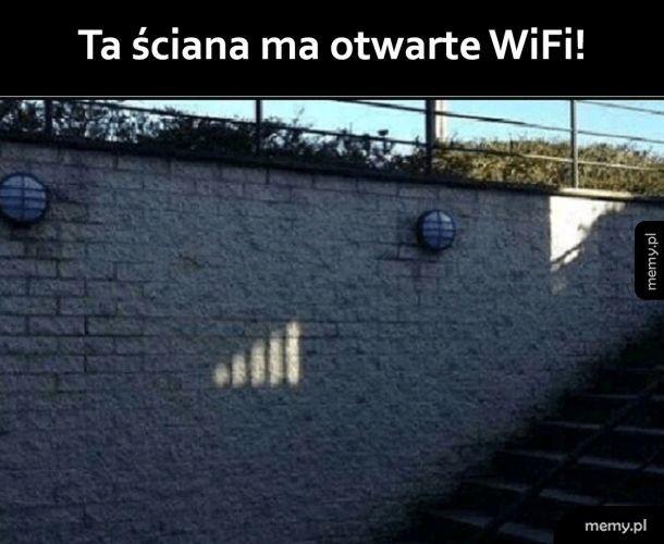 Darmowe wifi!