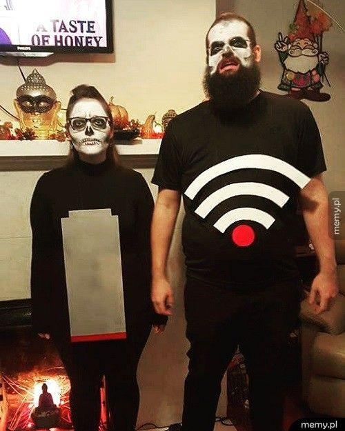 Przerażające kostiumy!