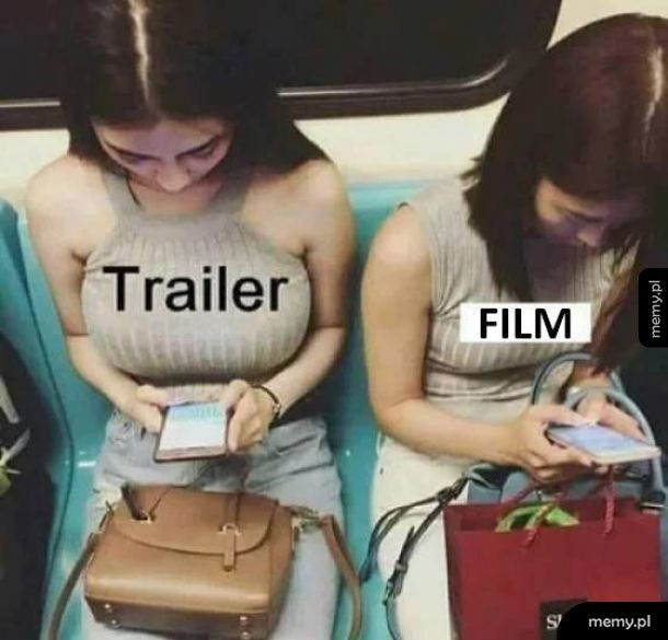 Trailer vs film
