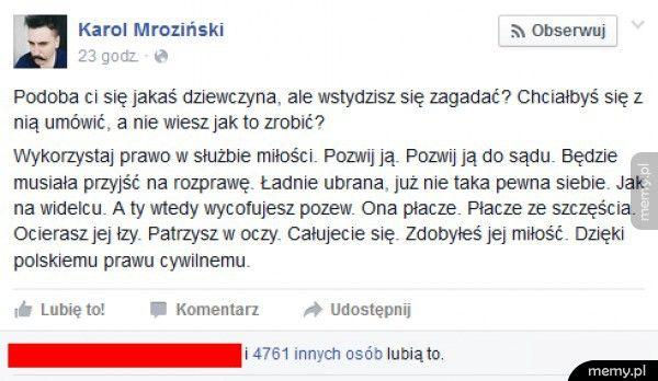 Polskie prawo w służbie miłości