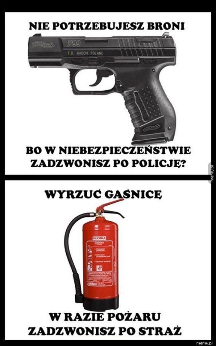 Po co komu broń?
