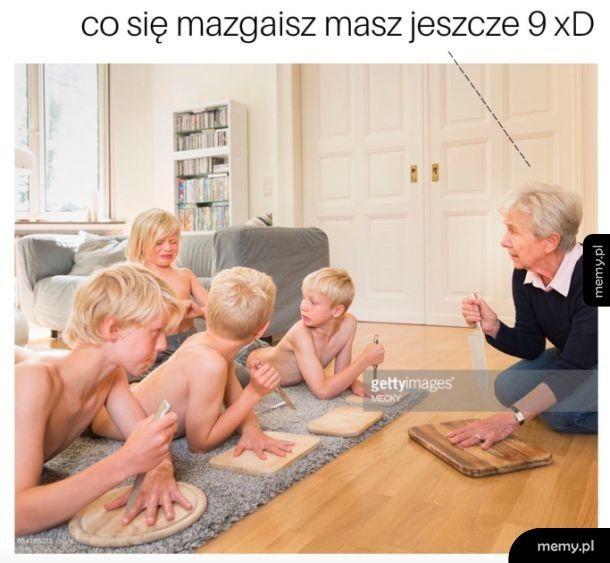 Zabawy z babcią
