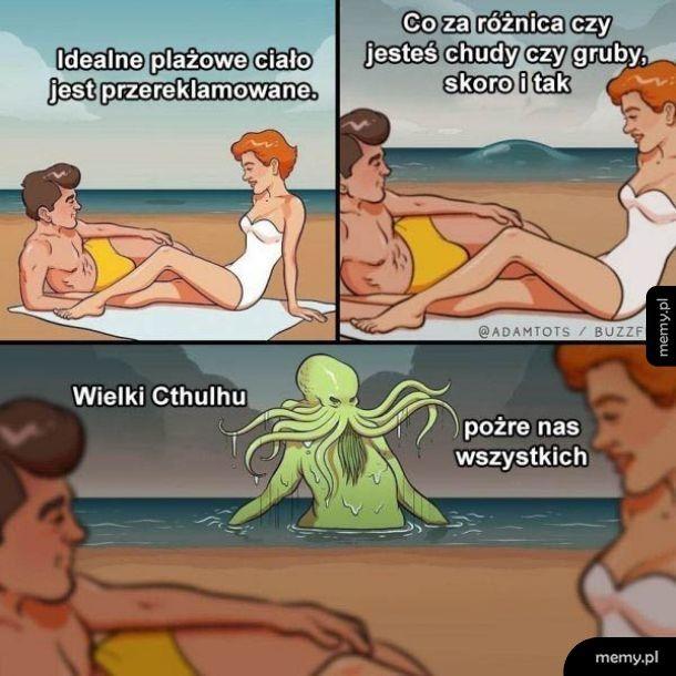 Plażowe ciało