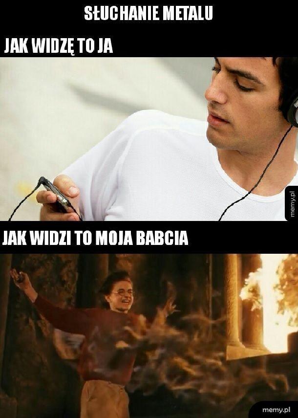 Metal vs Babcia