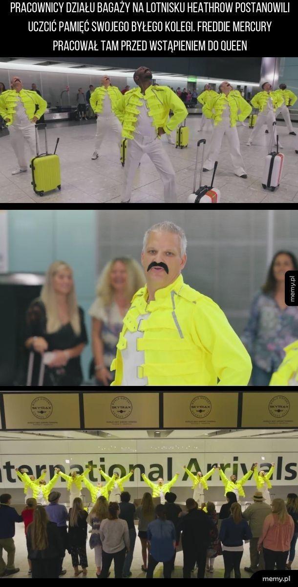 Zatańczyli na lotnisku