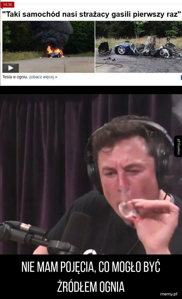Tesla w ogniu