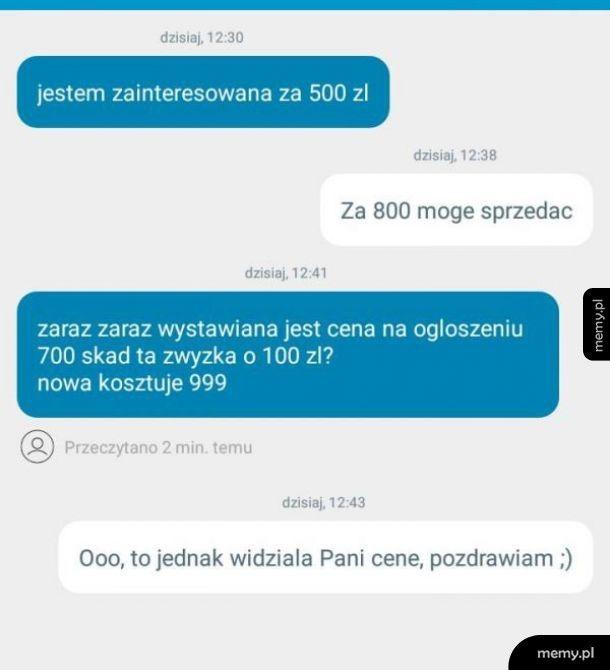 Janusze z OLX