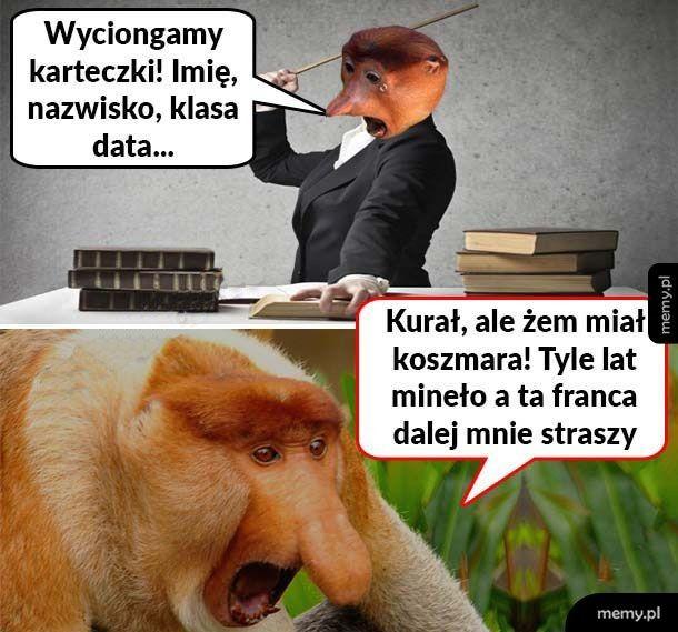 Złe wspomnienia Janusza
