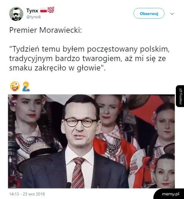 Pyszny polski twaróg
