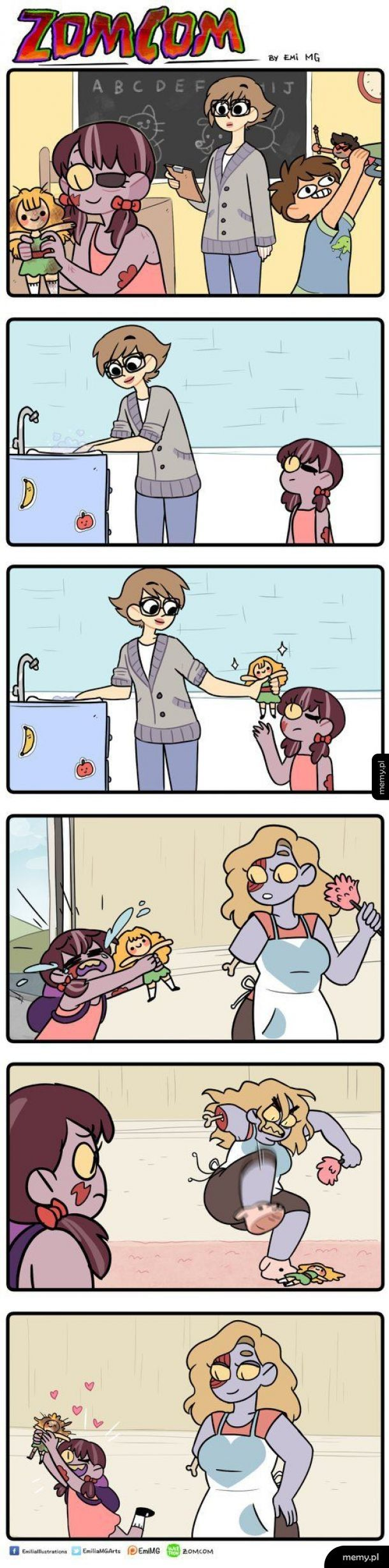 Brzydka lalka