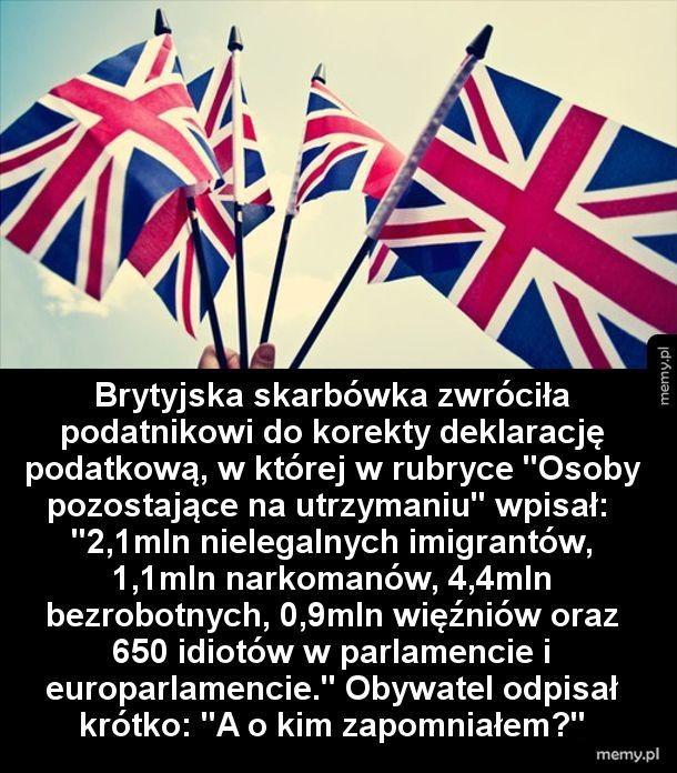 Brytyjczyk już nie wytrzymał...