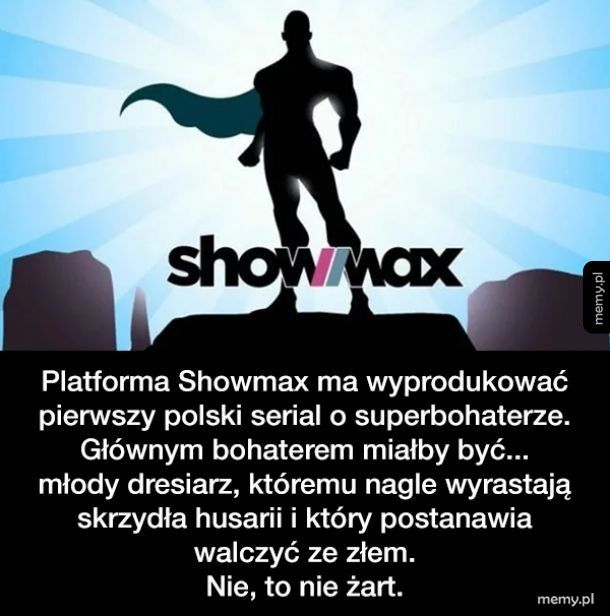 Pierwszy polski superbohater