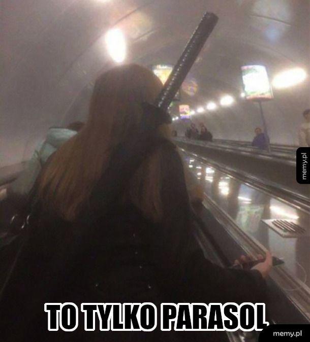 Samurai metro?