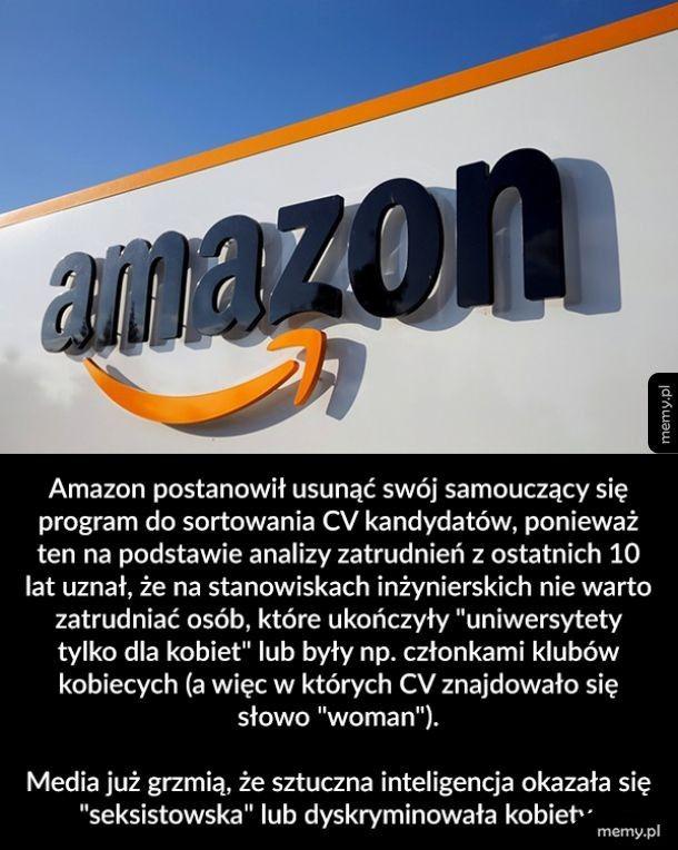Seksistowski Amazon