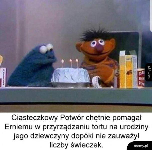 Co odwala ten Ernie