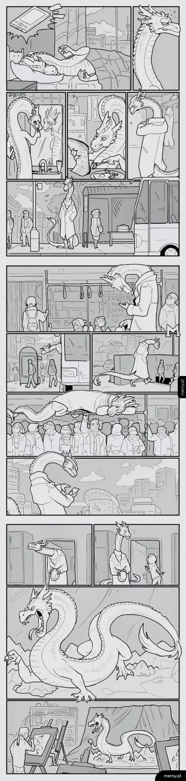 Życie smoka