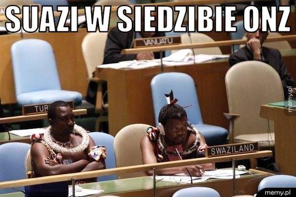 Suazi w siedzibie ONZ