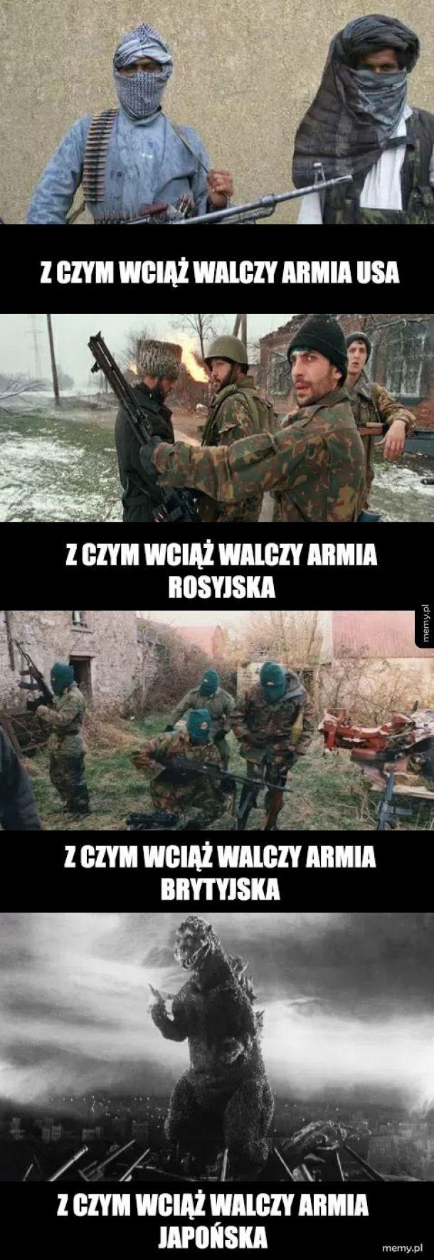 Walka armii