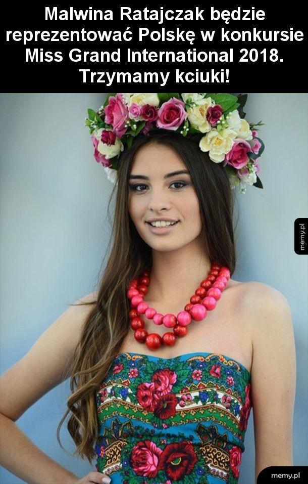 Polska kandydatka do tytułu Miss Grand International 2018