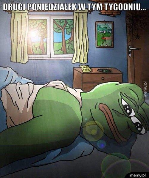 Drugi poniedziałek w tym tygodniu...