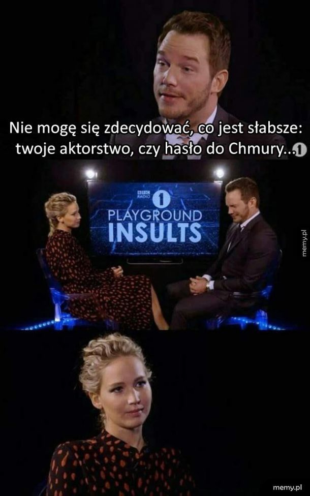 Chris Pratt zaorał Jennifer Lawrence