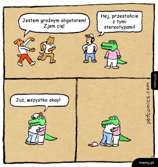 Stop stereotypom