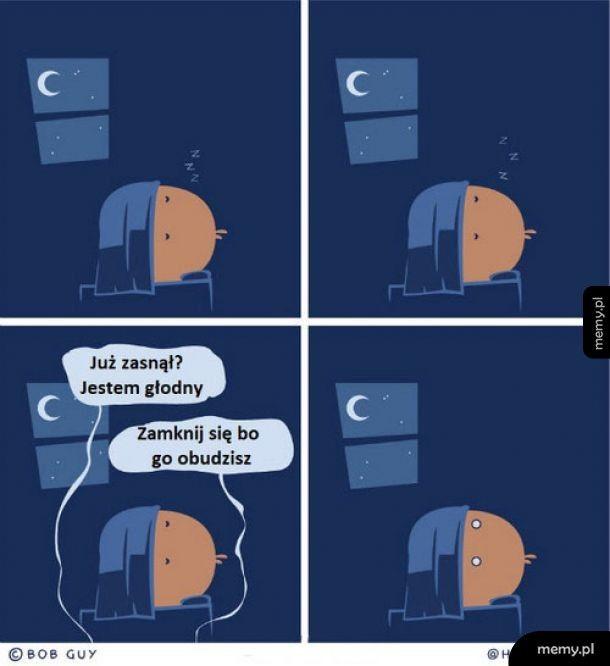 Chyba nie zaśnie
