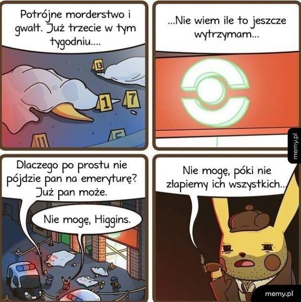 Detektyw Pikachu, zawsze na służbie