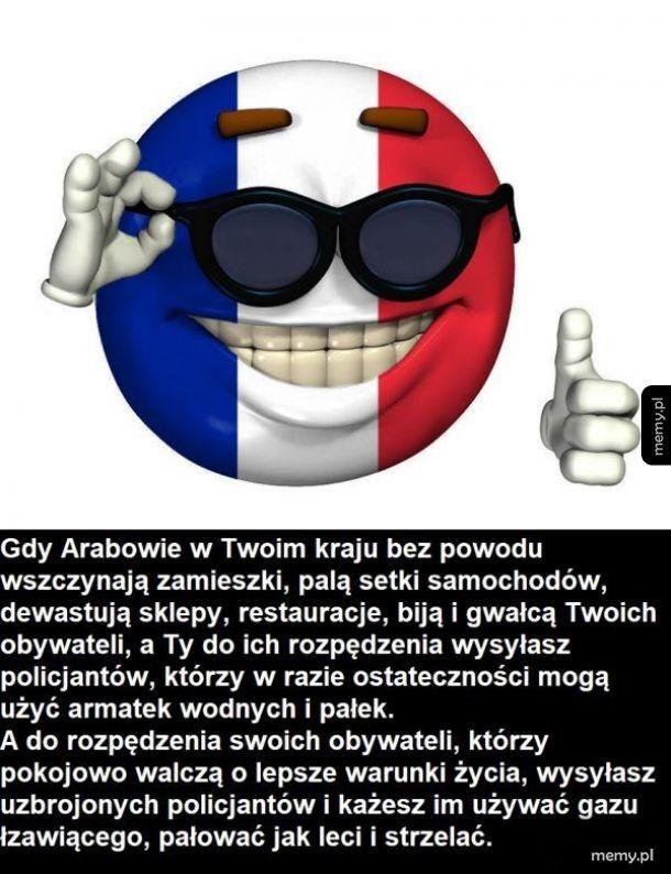 Logika francuskiego rządu