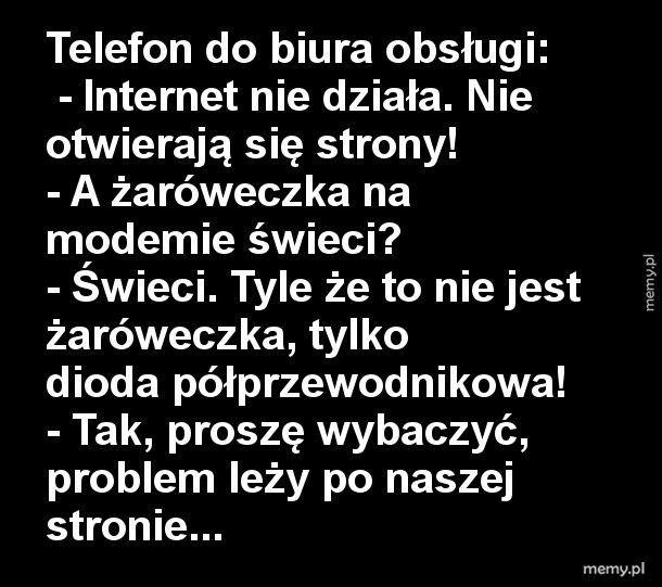 Awaria Internetu