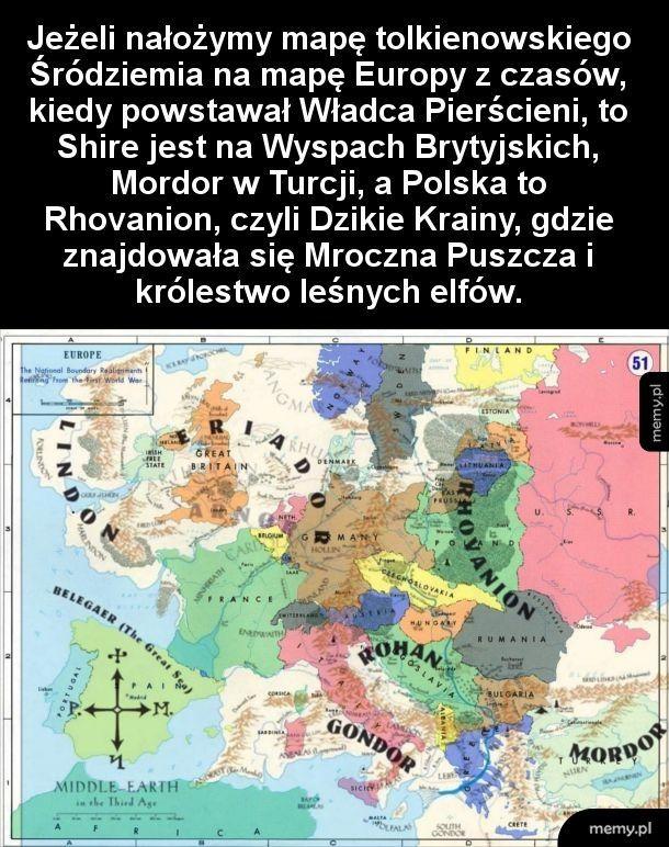 Europa według Tolkiena