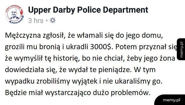 Żona gorsza niż policja