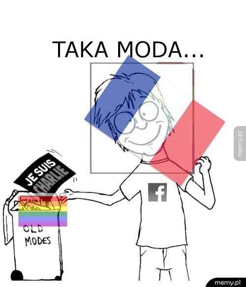 Facebookowa moda