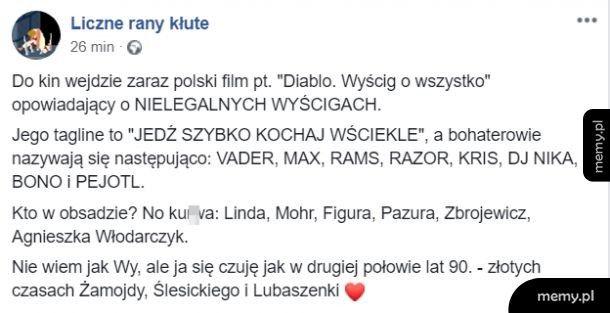 Nie mogę się doczekać polskich