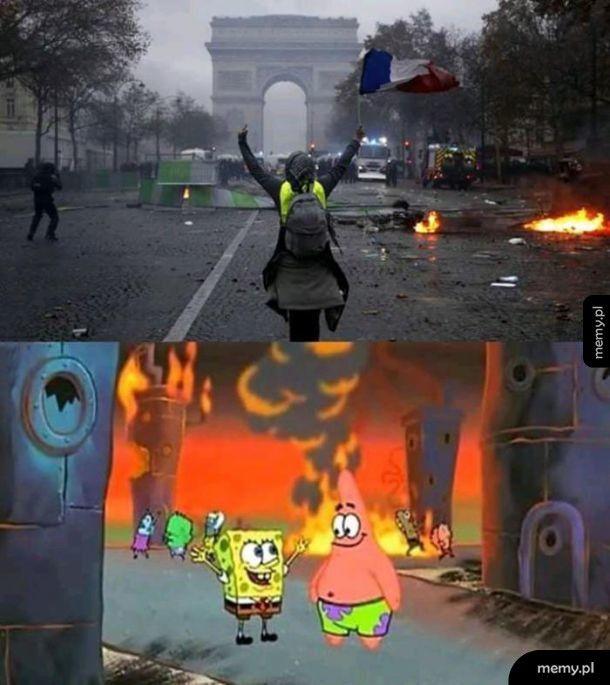 Paryż obecnie