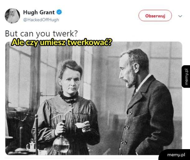 Hugh Grant zaorał
