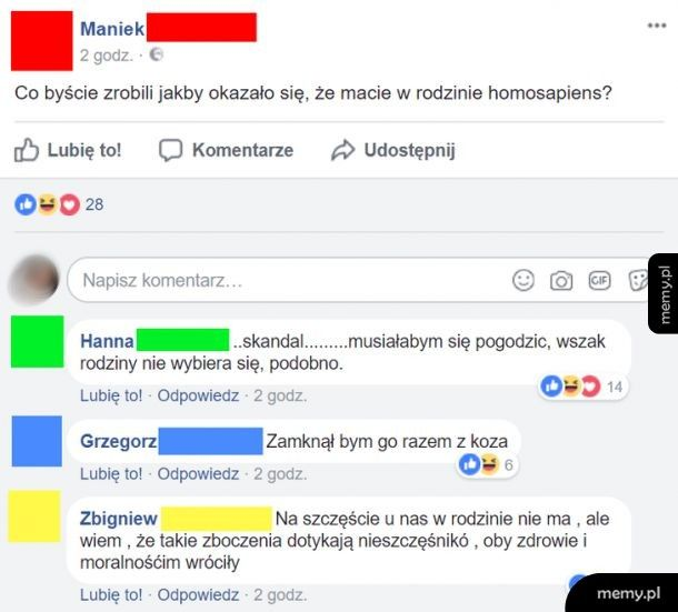 Straszne homosapiens