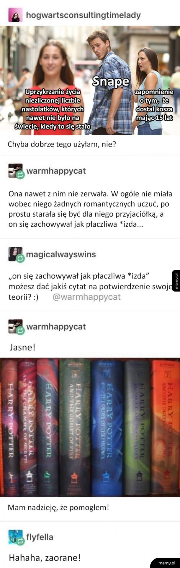 Cała prawda o Snape'ie