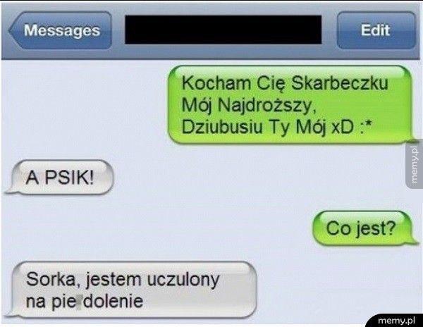Słodki SMS