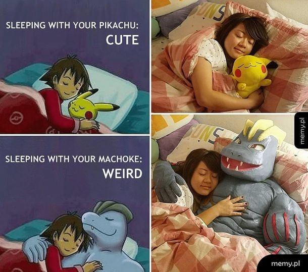 Machoke me harder