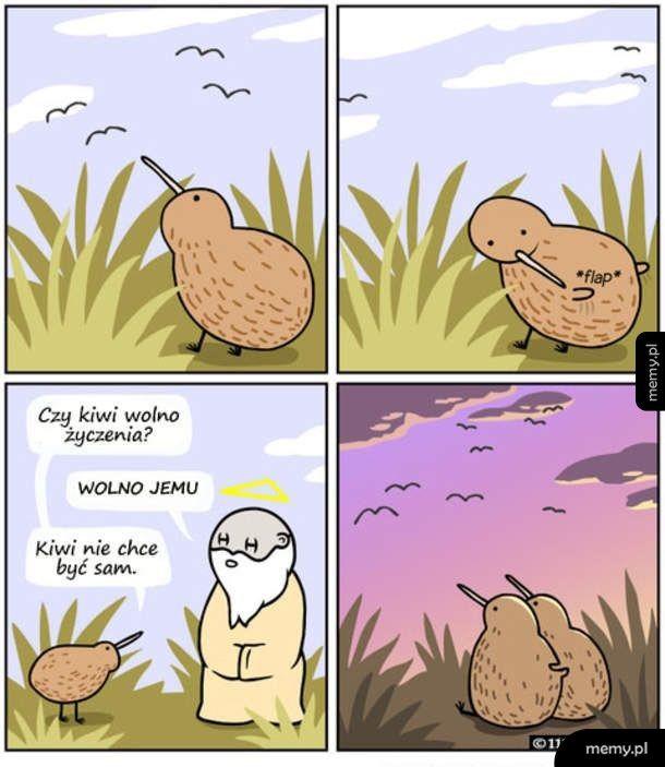Życzenie kiwi