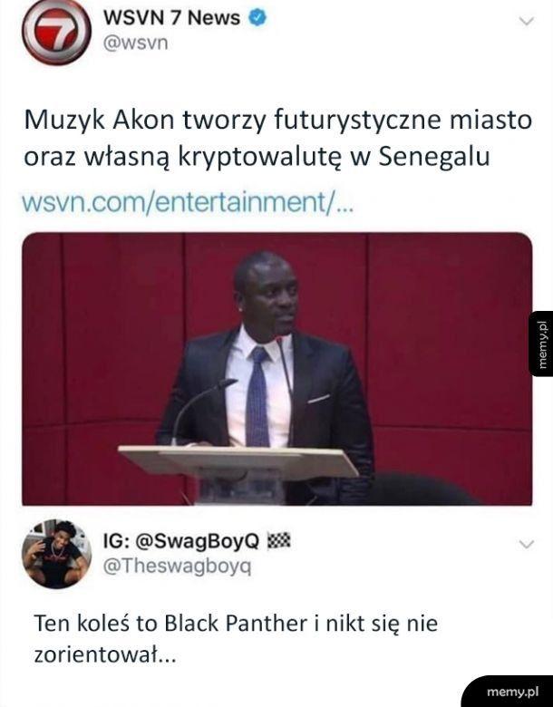 Ktoś odkrył sekret Akona